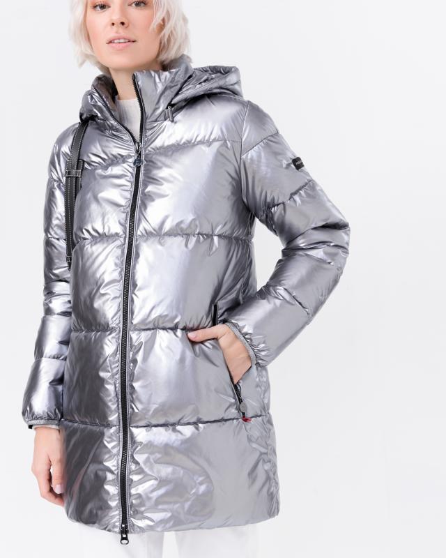 Куртка, р. 42, цвет серебрянный