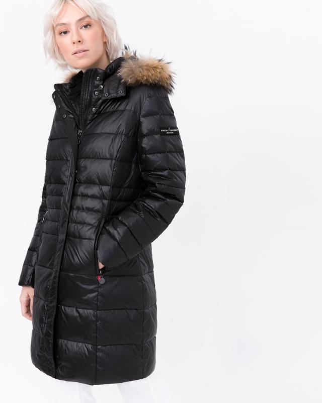 Пальто, р. 52, цвет черный