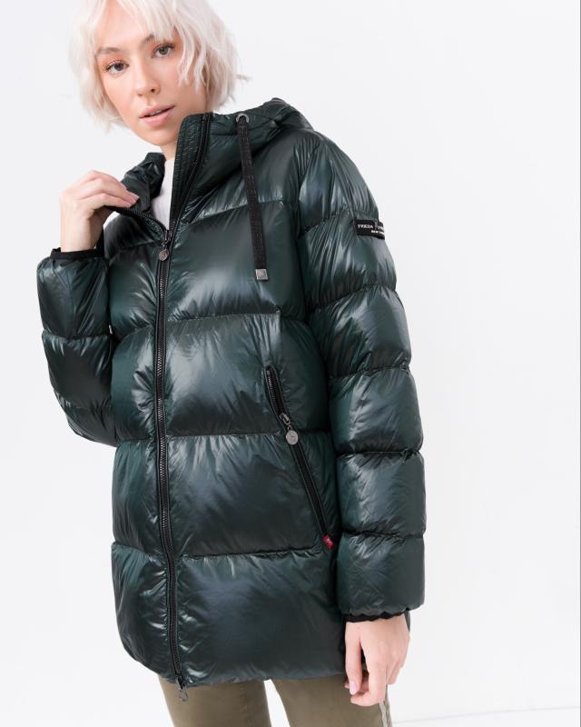 Куртка, р. 44, цвет изумрудный
