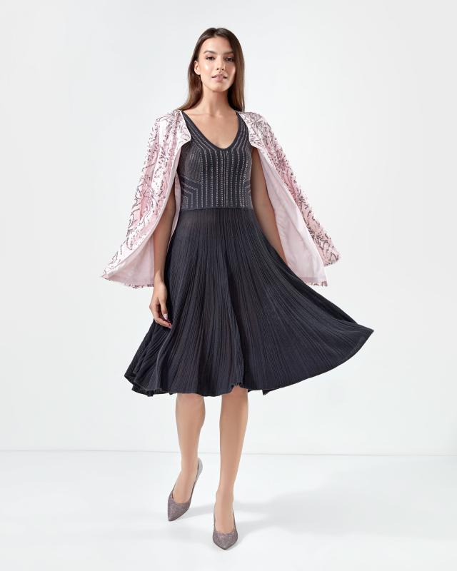 Платье, р. 50, цвет антрацит