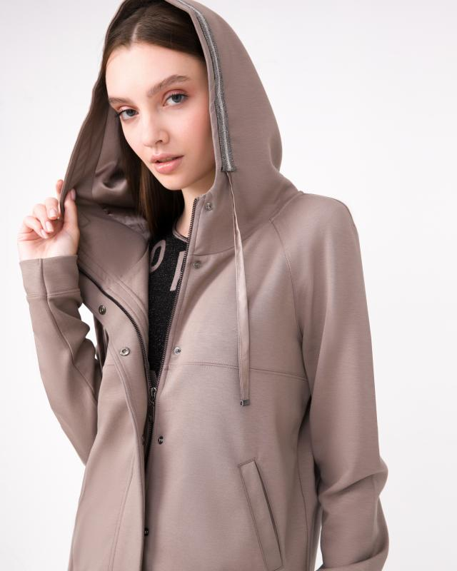 Куртка, р. 44, цвет бежевый