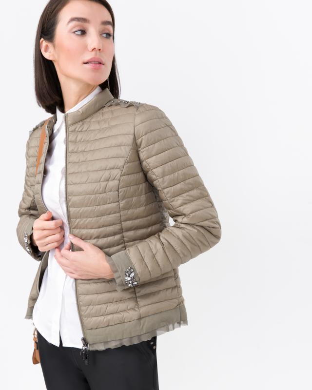 Куртка, р. 44, цвет оливковый