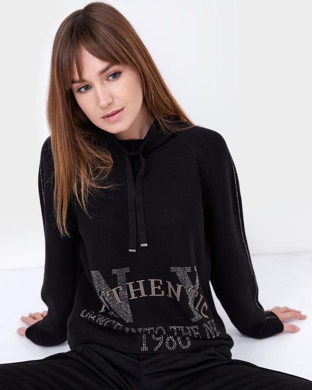 Пуловер, р. 48, цвет черный