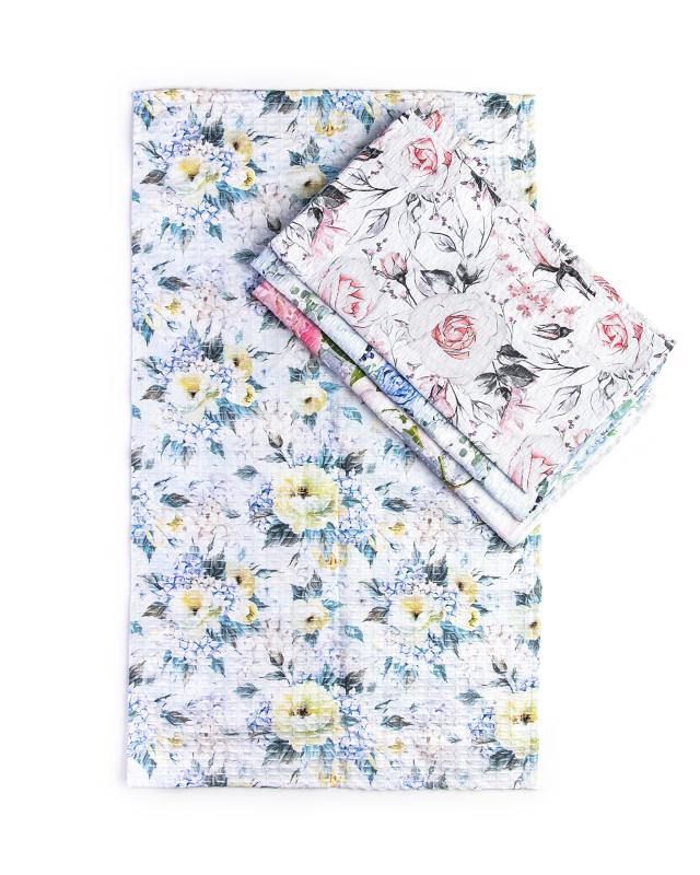 Набор полотенец «Английский сад», 4 шт. Clever