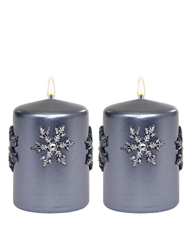 Набор свечей «Рождество», 2 шт. Adpal