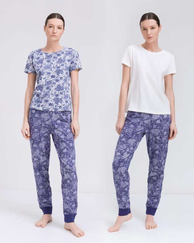 Домашний комплект: 2 футболки и брюки Joliena Collection