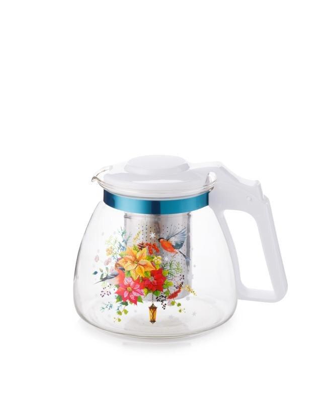 Чайник заварочный с фильтром, 900 мл AGNESS Торжество rainstahl заварочный чайник 7201 90 rs tp 900 мл стальной