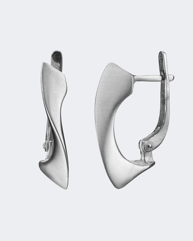 Серьги из серебра «Гауди» Salto Gioielli Гауди дверь гауди м352