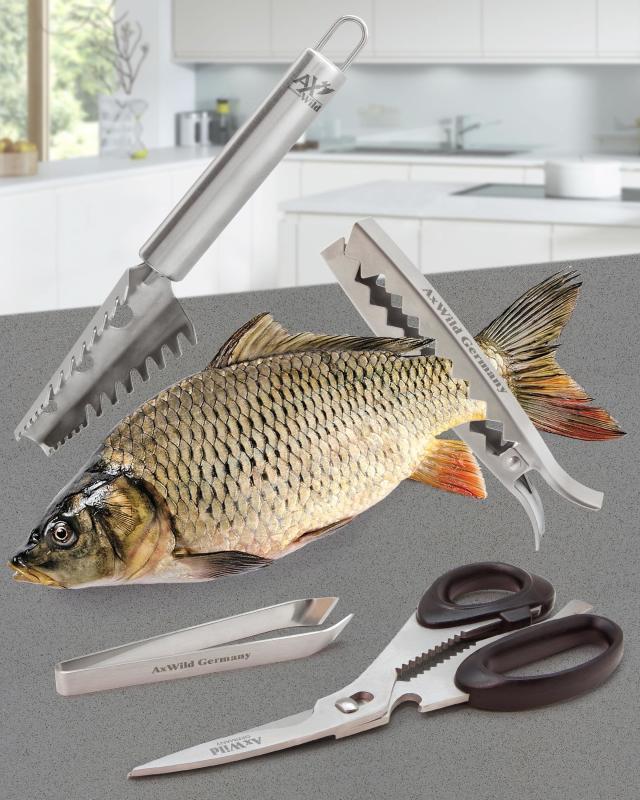 Набор «Рыбный день»,4 предмета AxWild