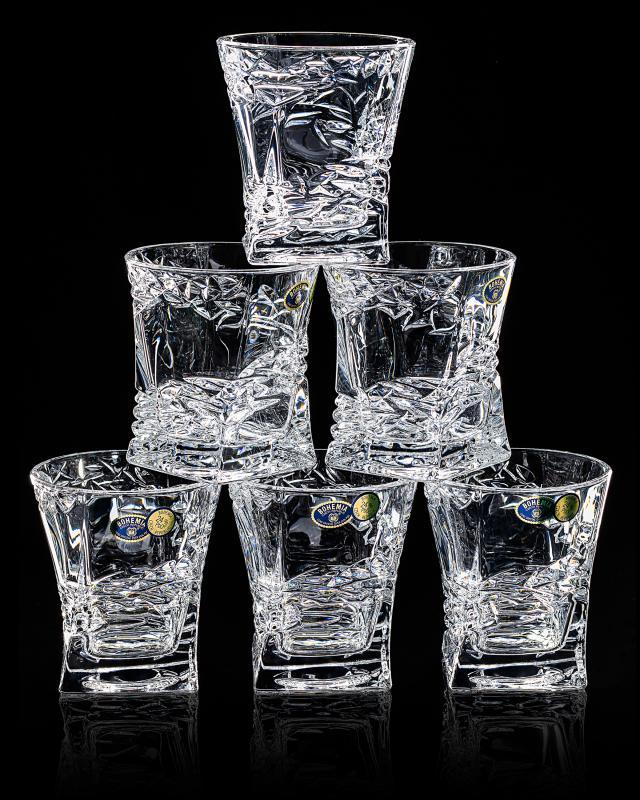 Набор стаканов для виски, 240 мл, 6 шт. Bohemia Samurai