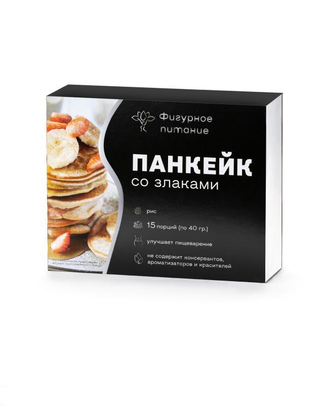Панкейк со злаками «Рис», 15 шт. х 40 г Фигурное питание