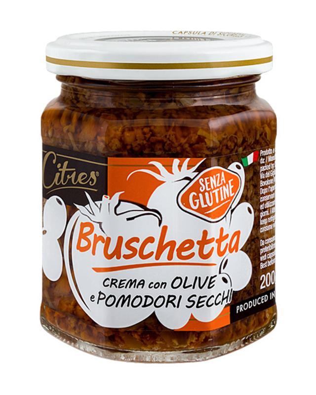 Фото - Крем-соус из оливок и вяленых томатов Citres tomtom брускетта из вяленых томатов с кедровыми орешками 140 г
